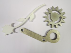 Waterjet cutting any shape and thickness